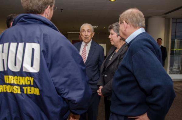 meeting at FEMA office in new jersey